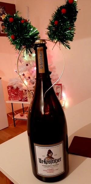 Es geht immer größer :-) :-) :-) :-). Weihnachten zuhause. - Mandy