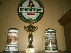 Ur-Krostitzer ist immer das Beste. Ich bin stolz, das alles in meiner Sammlung zu haben. In meinem Wohnzimmer. - Rene