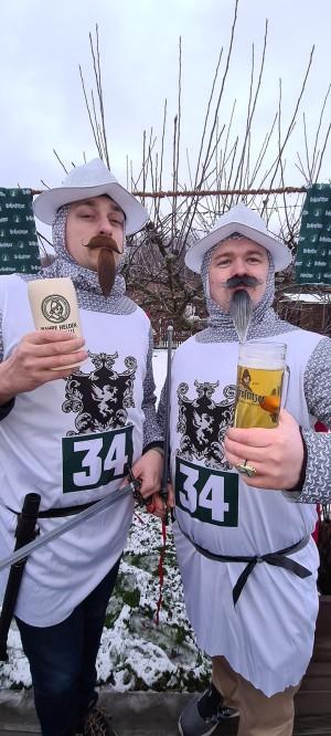 Die Geschichte von UK nachgestellt. Nachzulesen auf der Rückseite jeder Flasche des besten Bieres, was es seit 1534 gibt. UK-Liebe. Leipzig. - Uwe