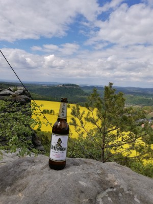 Wanderausflug in der Sächsischen Schweiz mit dem besten Gipfelbier! Geschmack. Sächsische Schweiz. - Franz