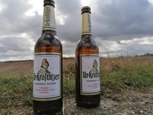 Ein Uri kommt niemals Allein! Freiheit, gutes Bier. Zwischen Hollsteitz und Oberschwöditz (Sachsen-Anhalt). - Leon