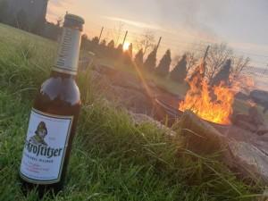 Frühjahrsfeuer mit leckerem Beigeschmack. Home, Feuer. Gröditz. - Ronny