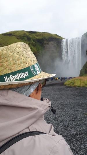 Wahre Helden sind überall. Auch am Skogarfoss in Island. - Krostitzerin