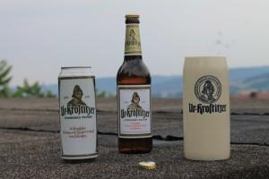 Egal ob Krug,Dose oder Flasche. Es schmeckt einfach immer und überall. Auch in Thüringen sind wir Stammkunden der Ur-Krostitzer Biere - Sebastian