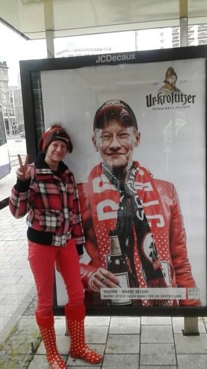 Immer zusammen, niemals allein, so wird es heute und für immer sein! Yvonnsche love RB Leipzig - Yvonne W.